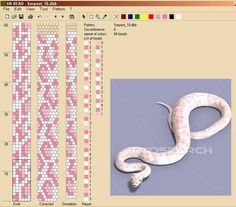 NooN beaded jewellery: crochet-beaded rope patterns
