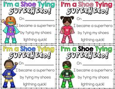 Shoe Tying Strategies for 1st Graders - Lucky To Be In First