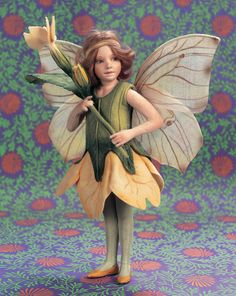 Primrose Flower Fairy by R. John Wright, Dollmasters ($795)