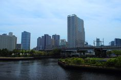 Tokyo, the Tokyo Port in the morning.