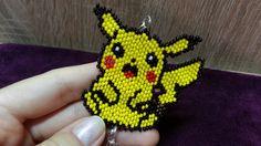 Покемон пикачу из бисера/Pokemon Pikachu Bead