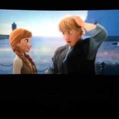 """I could kiss you! I mean, can I?"" Aw, Kristoff...! He's awesome. :)"