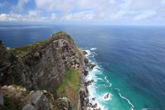Using a Circular polariser in the middle of the day to bring out green in the grass and colour in the water below cape point: Photo: Pranesh Luckan Oh The Places You'll Go, Cape Town, Travel Guide, South Africa, Trip Advisor, Filters, Explore, Day