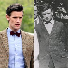 This Doctor Who fan's great great uncle is an amazing Matt Smith lookalike. This family photo uncovered by one Doctor Who fan is exactly as it seems – proof that Matt Smith's Eleventh Doctor had a secret human family in 19th-century Texas.