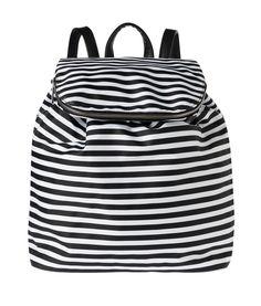 Reppu sydä raita on yhtäkuin täydellistä / Seppälä Backpacks, Bags, Fashion, Handbags, Moda, Fashion Styles, Backpack, Fashion Illustrations, Backpacker