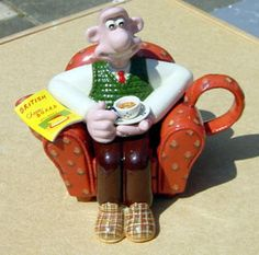 Paul Cardew - Wallace & Gromit teapot
