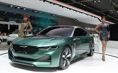 Forte-Based Kia Novo Concept Hints at Brand's Future Compact Cars New Model Car, Model Cars Kits, Kia Optima, Kia Sportage, Car Images, Car Pictures, Carros Kia, Alto Car, Nova