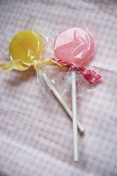 how to make swirl lollipop