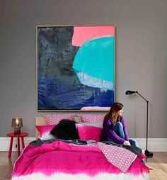 Home Decor Hot pink+chevron home interior Thanks to Dot & Bo for featuring me as the in their top 50 influencers in Home Design bl. Home Bedroom, Girls Bedroom, Bedroom Decor, Master Bedroom, Design Bedroom, Dream Bedroom, Girl Room, Bedroom Nook, Bedroom Inspo