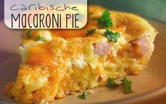 Deze stevige macaronischotel is de basis van een voedzame maaltijd. Na het bakken in de oven, kun je hem -als een echte taart- mooi in punten snijden en serveren. Met vlees, kaas en eieren weet je …