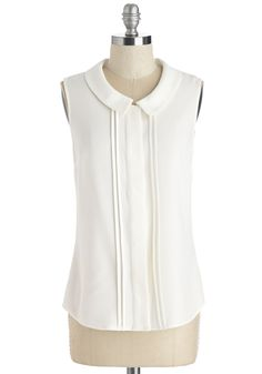 Tops - Profesh of Both Worlds Top in White