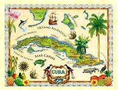 In Spanish and English:  LA HISTORIA, CULTURA Y LEGADO DEL PUEBLO DE CUBA.  THE HISTORY, CULTURE AND LEGACY OF THE PEOPLE OF CUBA.