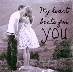 Love quotes for my heart beats Entertainment Center Makeover, Entertainment Weekly, Quotes To Live By, Me Quotes, Teenage Couples, Love Breakup, Qoutes About Love, In A Heartbeat, Be Yourself Quotes