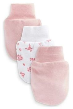 Buy 3 Pack Pink Scratch Mitts from the Next UK online shop