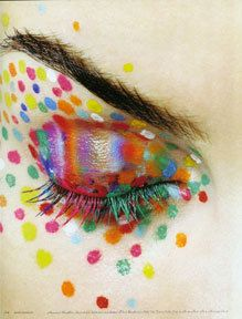 Make up rainbow by ♥SwEeTie ♥, via Flickr