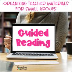 Tips to Organize Guided Reading Materials for Teachers #guidedreading #classroomorganization #kindergarten #firstgrade #secondgrade #smallgroups #conversationsinliteracy #readinginterventions #lessonplans kindergarten, 1st grade, 2nd grade, 3rd grade, 4th grade, 5th grade