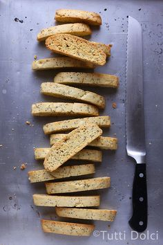 meyer lemon & poppy seed biscotti