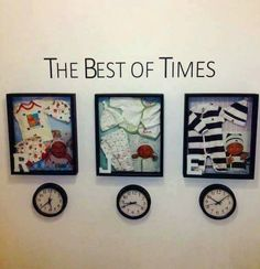 Cute time capsule of each child!!!  <3 Love this idea!!  Visit us:  www.myincrediblerecipes.com