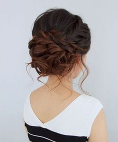 wedding bun / #hairstyles #beauty