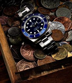 Blue-faced Submariner - Nice!