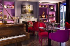 Bar - Hotel in Paris, Hotel La Belle Juliette, 4 Etoiles in Saint Germain des pr