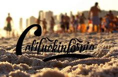 california typography - Google Search