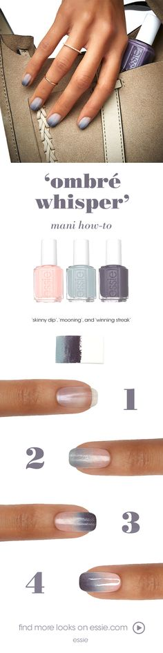 from a light tan with a wash of white to a shadowy blue, these shades are meant to be exposed. strip down and bare it all in the wildest of nude nail colors for spring with this beautiful nail art. untamed, fierce and sexy, these disarming shades will totally charm the pants off one and all. get ready to expose your nails in our latest collection of essie wild nudes polish -- they look amazing on all skintones.
