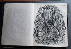 Sketchbook Illustration Drawings from Irina Vinnik