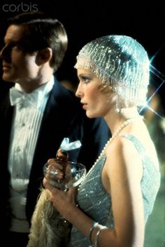 "The Film:Robert Redford and Mia Farrow in ""The Great Gatsby"" 1920s Party, Gatsby Party, Flapper Party, Gatsby Girl, Gatsby Style, Roaring Twenties, The Twenties, Mia Farrow, Robert Redford"