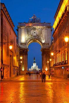 Clock tower, Lisbon, Portugal