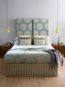 Trying To Find DIY Headboard Ideas? There are so many cost-effective means to develop a special distinctive headboard. We share a couple of brilliant DIY headboard ideas, to motivate you to style your bed room trendy or rustic, whichever you choose. Creative Headboard, Cheap Diy Headboard, Headboard Designs, Bedroom Design, Sophisticated Bedroom, Bedroom Decor, Elegant Bedroom, Interior Design, Home Decor