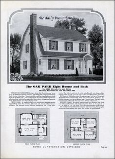 Homes of Today~Sears Kit Houses~1932 |