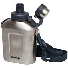 Stanley Trinkflasche 1000 ml Edelstahl Adventure Feldflasche Stanley Products, Stanley Adventure, Camping And Hiking, Camping Gear, Brushed Stainless Steel, Drink Bottles, Water Bottle, Ebay, Cleaning