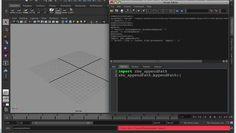 Maya/Python: The basics of using python scripts in Maya (Pt 1) on Vimeo