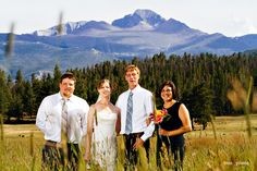 Jenni + Aaron | Rocky Mountain National Park WeddingAfter 20+ years of living in Colorado, there are still days here that can take my breath away. The skies above Upper Beaver Meadows on J+A's August intimate wedding were so painterly, they simply didn't look real. A clearly storm cleaned the air…