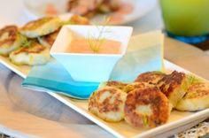 Bolinhos de Batata -- um dos melhores acompanhamentos para servir com Molho Rosê. Receita de família bem caprichada.