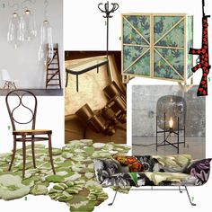 shoppingvisadron: milan day three, nature inspired deco