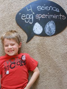 """4 """"Egg-speriments"""" for science fun in the kitchen"""
