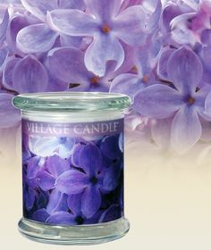Spring Lilac-Radiance Collection Scented Candles | Village Candle