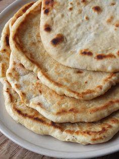 Naan, Food And Drink, Baking, Pizza, Ethnic Recipes, Diets, Bakken, Backen, Sweets