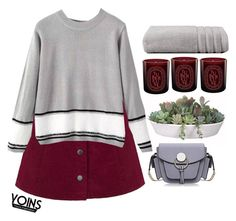 """""""#yoins"""" by credentovideos ❤ liked on Polyvore featuring VesseL, Diptyque, Christy, women's clothing, women's fashion, women, female, woman, misses and juniors"""
