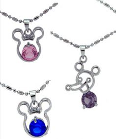 Mickey Pendant Necklace only $1.99 Shipped