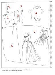 """Résultat de recherche d'images pour """"patron robe de mariée gratuit"""""""