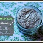 DIY Whitening Tooth Powder for Non-toxic Brushing