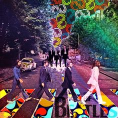 Summer Of Love American Hippie Psychedelic Art Abbey Road