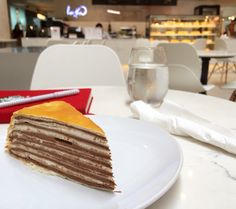Chocolate Mille Crepe from Paper Moon!