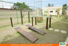 Espaço Fitness do Park Rossette. Condomínio fechado da MRV Engenharia no Rio de Janeiro/RJ.