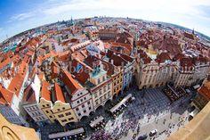 Prague Rooftops Fine Art Photography by PatrickRabbatPhotos, $20.00