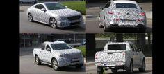 Mercedes-Erlkönige erwischt: GLT Pickup und E-Klasse Coupé: Spy Shot…