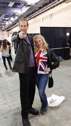 Perfect Ninth Doctor at Wizard World Philadelphia 2014